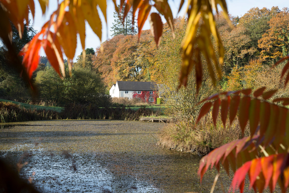Wainsford Riverside Cottages Autumn